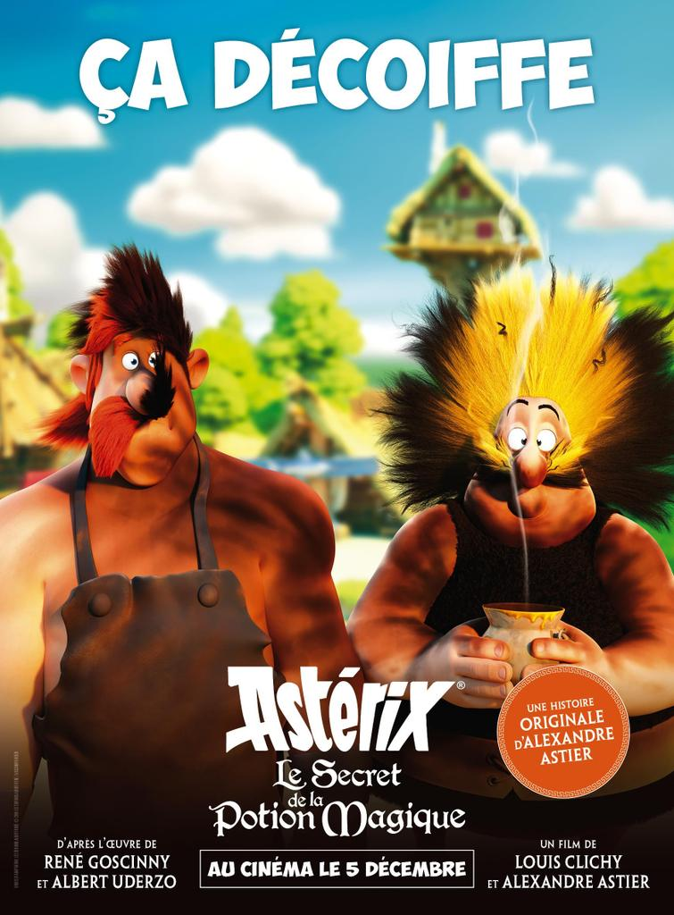 Astérix: The Secret of the Magic Potion de Louis Clichy, Alexandre