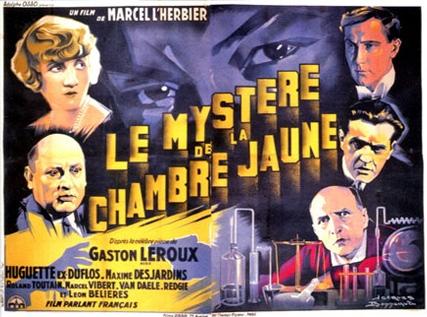 Le myst re de la chambre jaune de marcel l 39 herbier 1930 unifrance - Le mistere de la chambre jaune ...