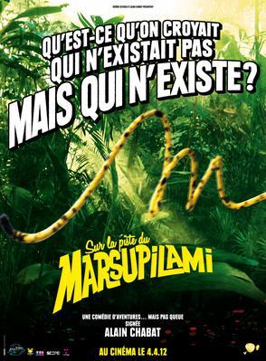 Sur la piste du Marsupilami - Poster - France