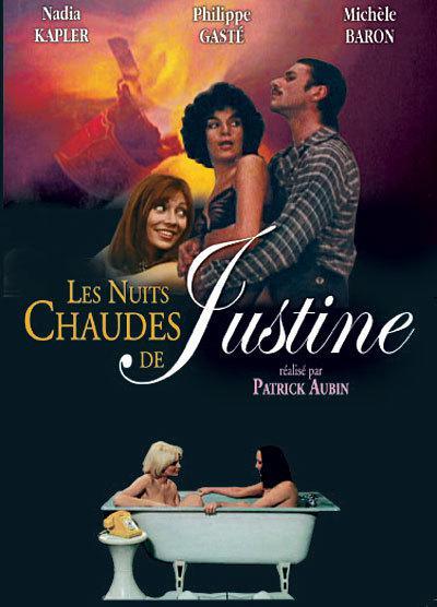 Les Nuits chaudes de Justine - Jaquette DVD France