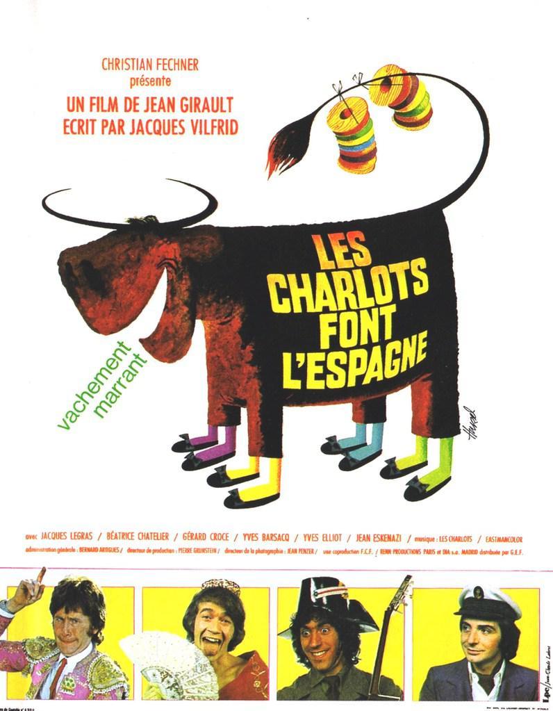 Los Charlots van a España