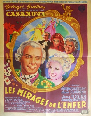 Loves of Casanova - Part Two - Poster Belgique