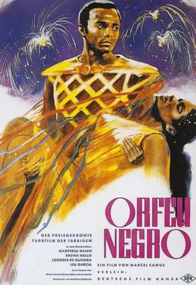 Orfeo Negro - Poster Allemagne