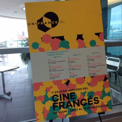 Balance del primer Mercado del Cine Francés en Miami