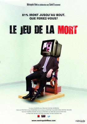 Le jeu de la mort - Affiche Quebec