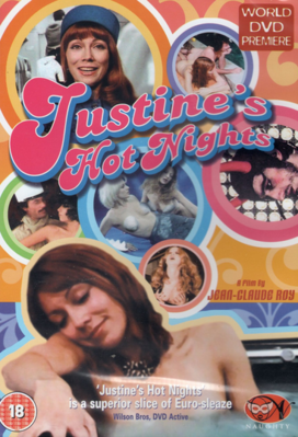 Justine's Hot Nights - Jaquette DVD Royaume-Uni