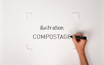 Illustration : compostage