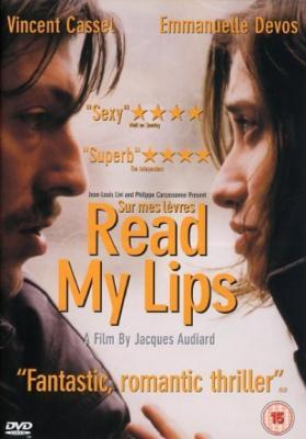 Sur mes lèvres - Jaquette DVD Royaume-Uni