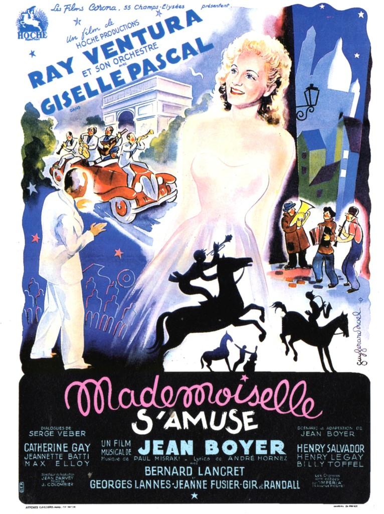 Mademoiselle Has Fun