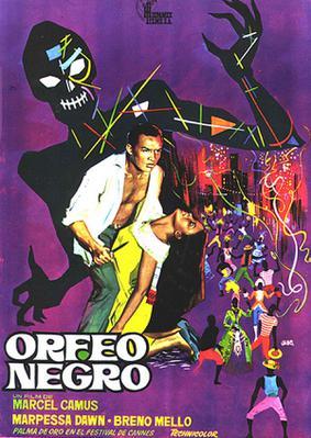 黒いオルフェ - Poster Espagne