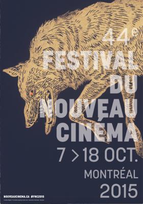 Montreal Festival du Nouveau Cinéma - 2015