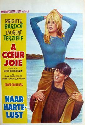 A coeur joie - Poster Belgique