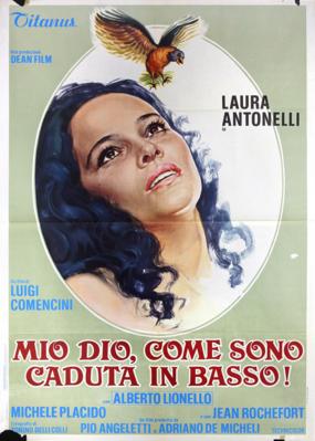 Mon Dieu, comment suis-je tombée si bas ? - Poster Italie