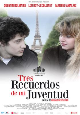 Trois souvenirs de ma jeunesse - Poster - Argentina