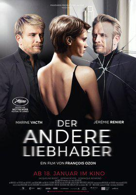 L'Amant double - Poster - Germany