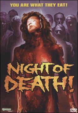 Night of Death ! - Jaquette DVD Etats-Unis
