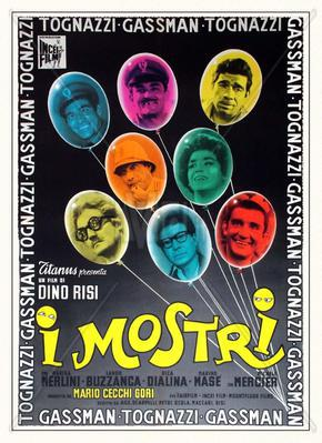 Les Monstres - Poster Italie