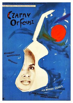 Black Orpheus - Poster Pologne