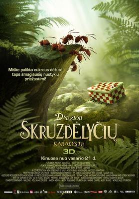Minúsculos, el valle de las hormigas perdidas - Poster - Lithuania