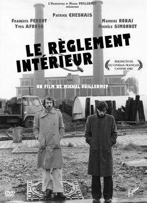 Le Règlement intérieur - Jaquette DVD - France