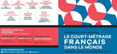Brochure de présentation 2016 : Le court métrage à UniFrance films