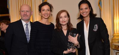 UniFrance otorga el Premio French Cinema a Isabelle Huppert, en presencia de la Ministra de Cultura - © Veeren Ramsamy