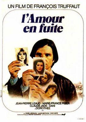 El Amor en fuga - Poster France