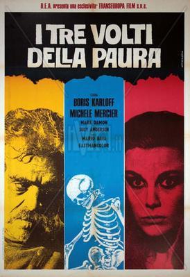 Les Trois visages de la peur - Poster - Italy