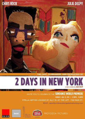 Two Days in New York - Flyer - Sundance