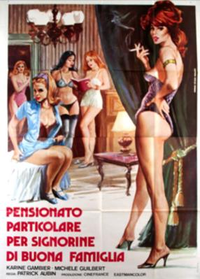 Les Demoiselles de pensionnat - Poster Italie