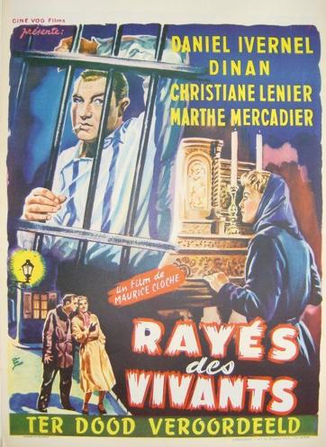 Rayés des vivants - © Poster Belgique