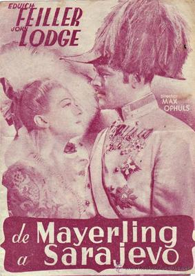 De Mayerling à Sarajevo - Poster Espagne