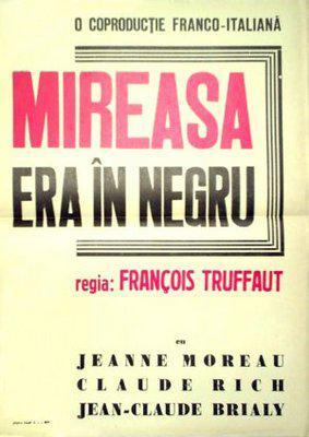 La Mariée était en noir - Poster Roumanie