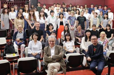 21 juin - 2e jour du Festival - Masterclass de Sébastien Marnier à l'Université de Yokohama