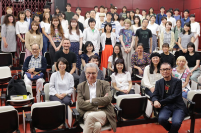 June 21: Day 2 of the Festival - Masterclass de Sébastien Marnier à l'Université de Yokohama