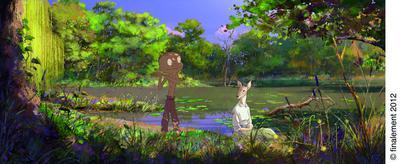 森に生きる少年~カラスの日~ - © Finalement 2012
