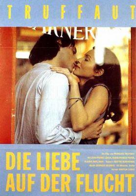 L'Amour en fuite - Poster Allemagne