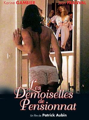 Les Demoiselles de pensionnat - Jaquette DVD France