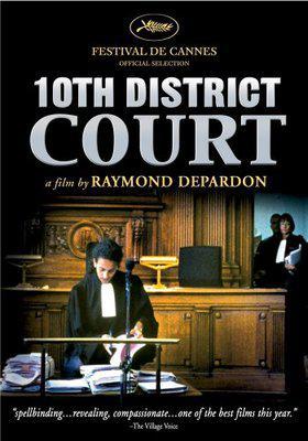 10e Chambre instants d'audiences / 仮題:第10法廷部切迫した審問 - Poster Etats-Unis