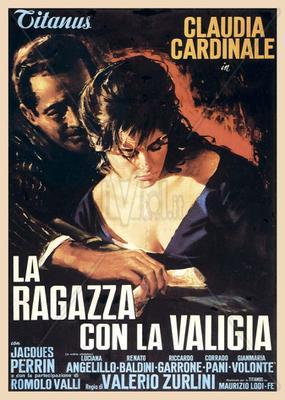 La Chica con la maleta - Poster Italie