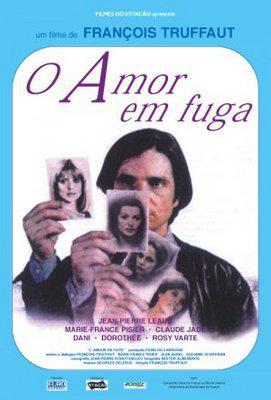 El Amor en fuga - Poster Brésil