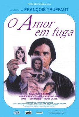 L'Amour en fuite - Poster Brésil
