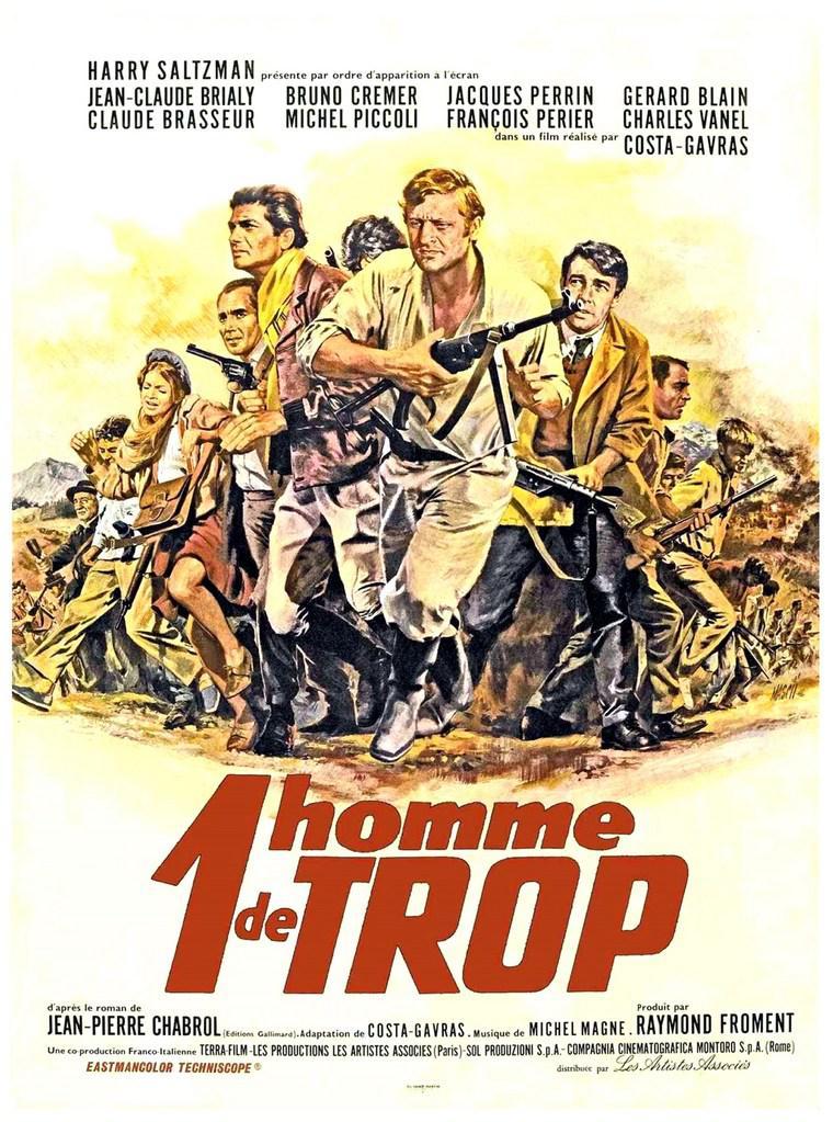 Sobra un hombre - Poster France