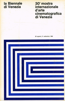 Mostra Internacional de Cine de Venecia - 1969