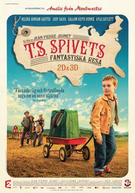 L'Extravagant Voyage du jeune et prodigieux T. S. Spivet - Poster - Sweden