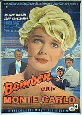 Bombas sobre Montecarlo - Poster Allemagne