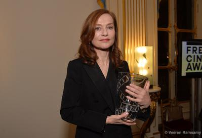 UniFrance presents the French Cinema Award to Isabelle Huppert in the presence of the Minister for Culture - © Veeren Ramsamy