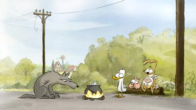 Big Bad Fox & Other Tales - © FOLIVARI / PANIQUE! / STUDIOCANAL / RTBF / VOO / BE TV