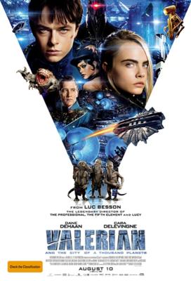 Valerian y la Ciudad de los Mil Planetas - Poster - New Zealand