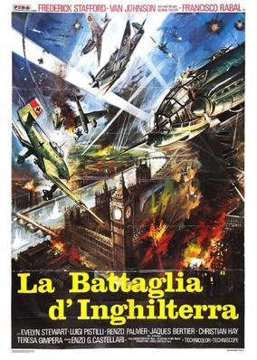 Eagles Over London / Battle Squadron - Poster - Italy